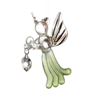 Loving Glass Angel Peridot