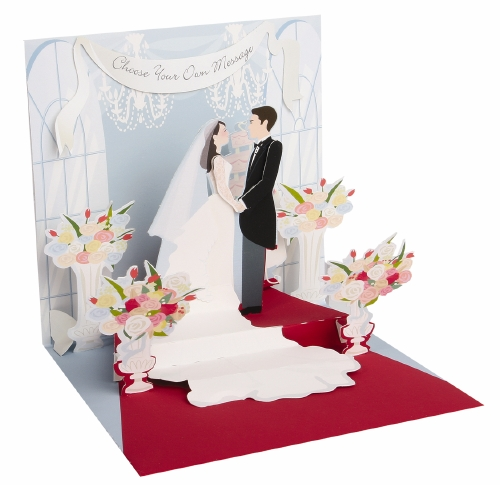 Pop-Up Greeting Card Treasures Wedding Day