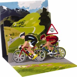 Pop-Up Greeting Card Treasures Cycling