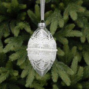 Lace-glass-decoration