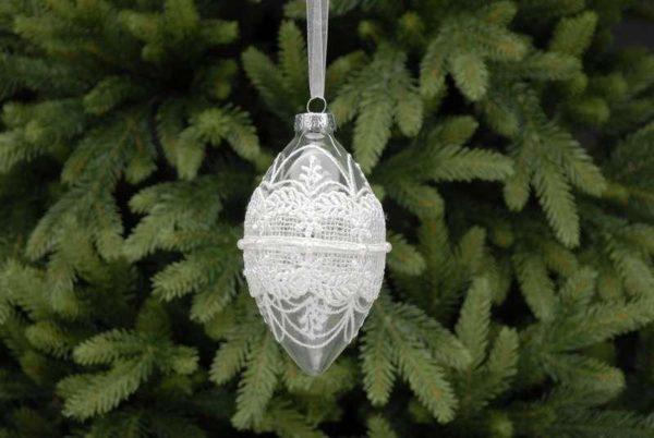 Lace-glass-decoration