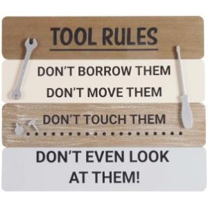 Tool-rules-sign