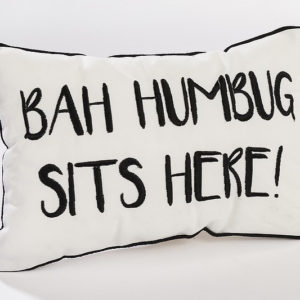 Ba Humbug Cushion