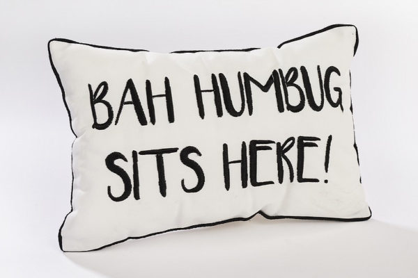 Ba Humbug Cushion