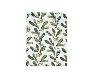 Mistletoe-tea-towel