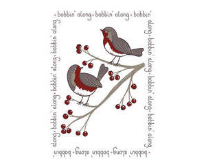 Robin Tea-towel