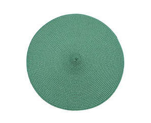 Round-green-placemat