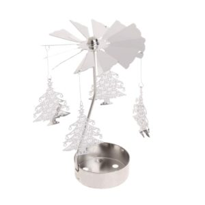 Christmas Tree tea light spinner