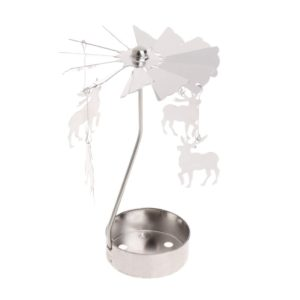 Deer tea light spinner