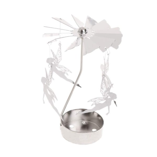Fairies tea light spinner