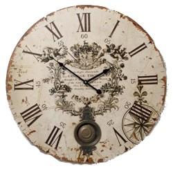 vintage cream clock