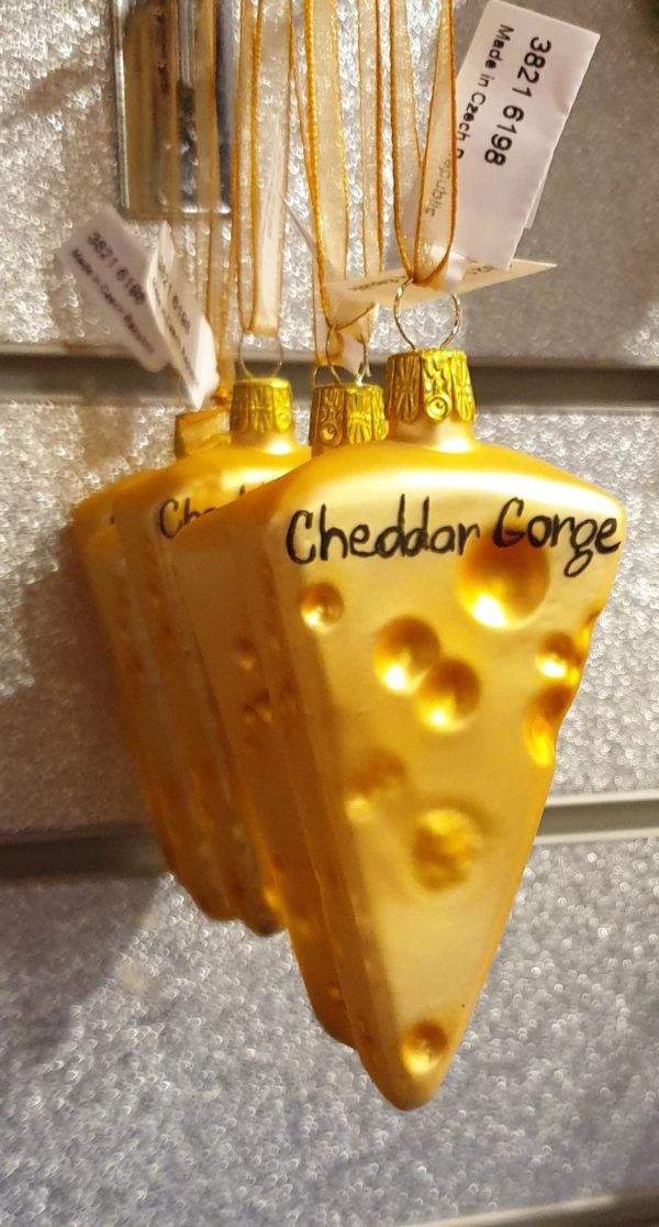 Cheddar Cheese Bauble