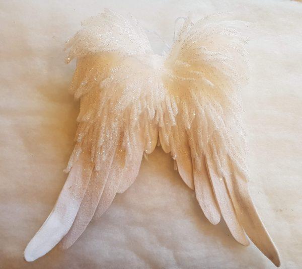 glitter angel wings