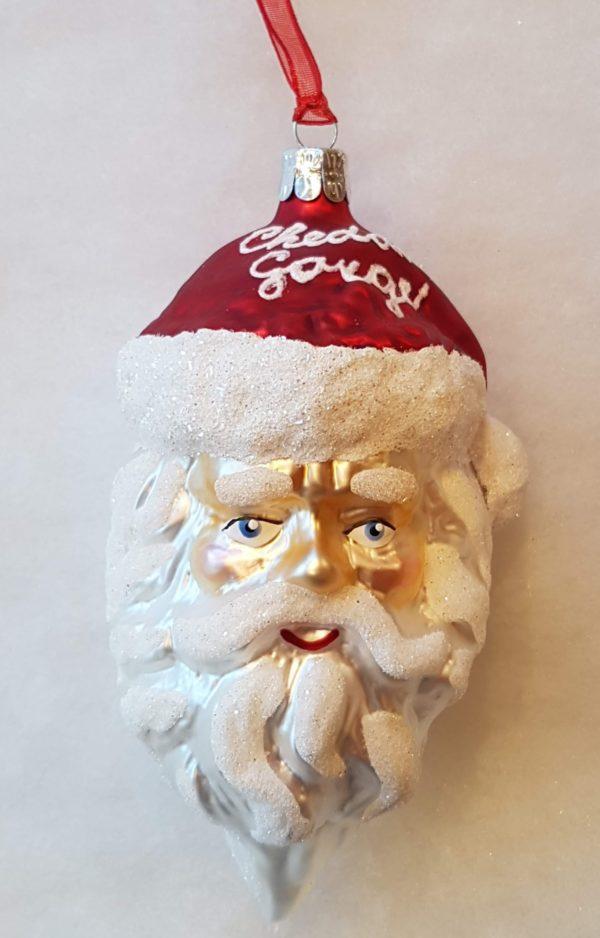Cheddar Gorge Traditional Santa head