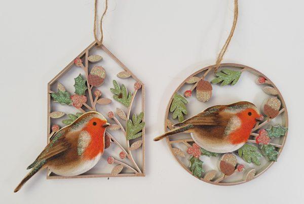 robin fretwork decoration