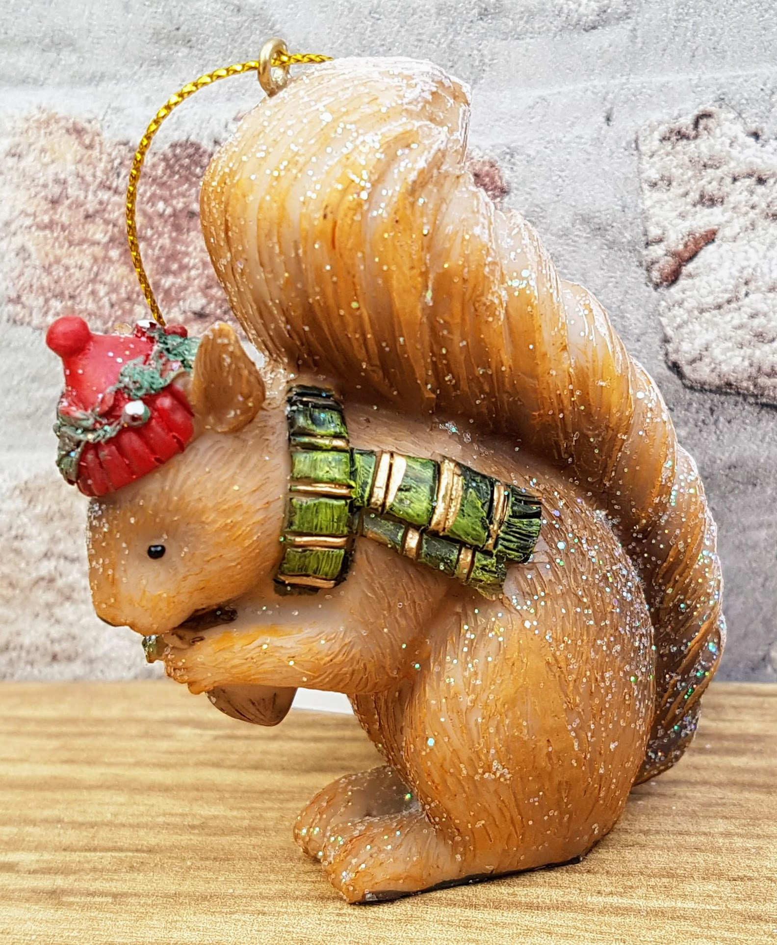 resin squirrel