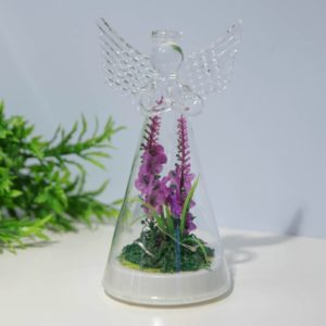 LED lavender angel