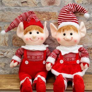 boy and girl elf room decoration