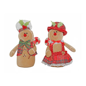 Gingerbread Dumpy Figure - Assorted - 2020