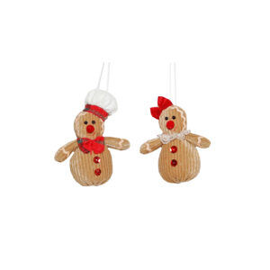 Gingerbread Mini Tree Hanger - Assorted - 2020