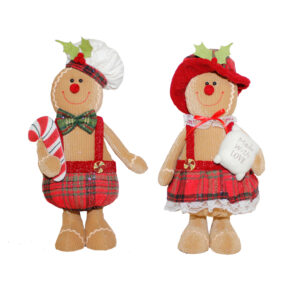 Gingerbread Small Standing Figure - Assorted - 2020