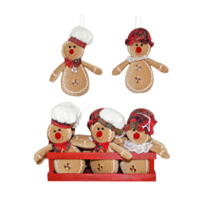 Gingerbread Tree Hanger - Assorted - 2020