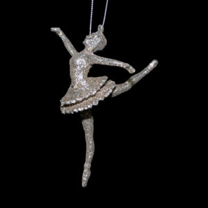 Gold Sparkle Ballerina Hanger - Assorted