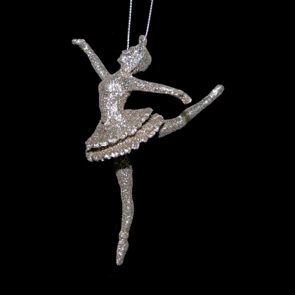 Gold Sparkle Ballerina Hanger - Assorted