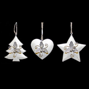 Whimsy Silver Tree Hanger - Assorted